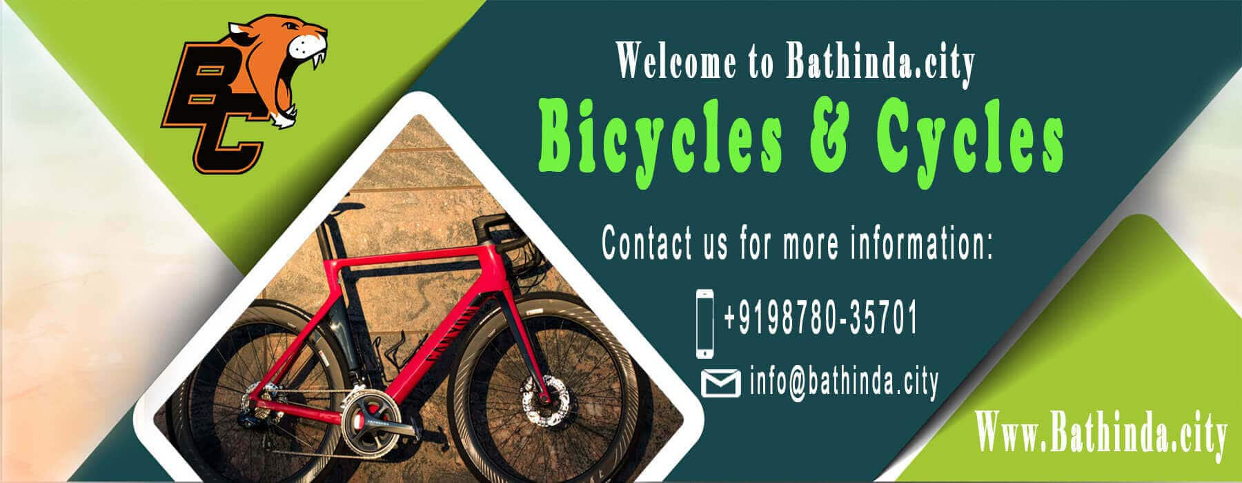 Bicycles And Cycles store in bathinda